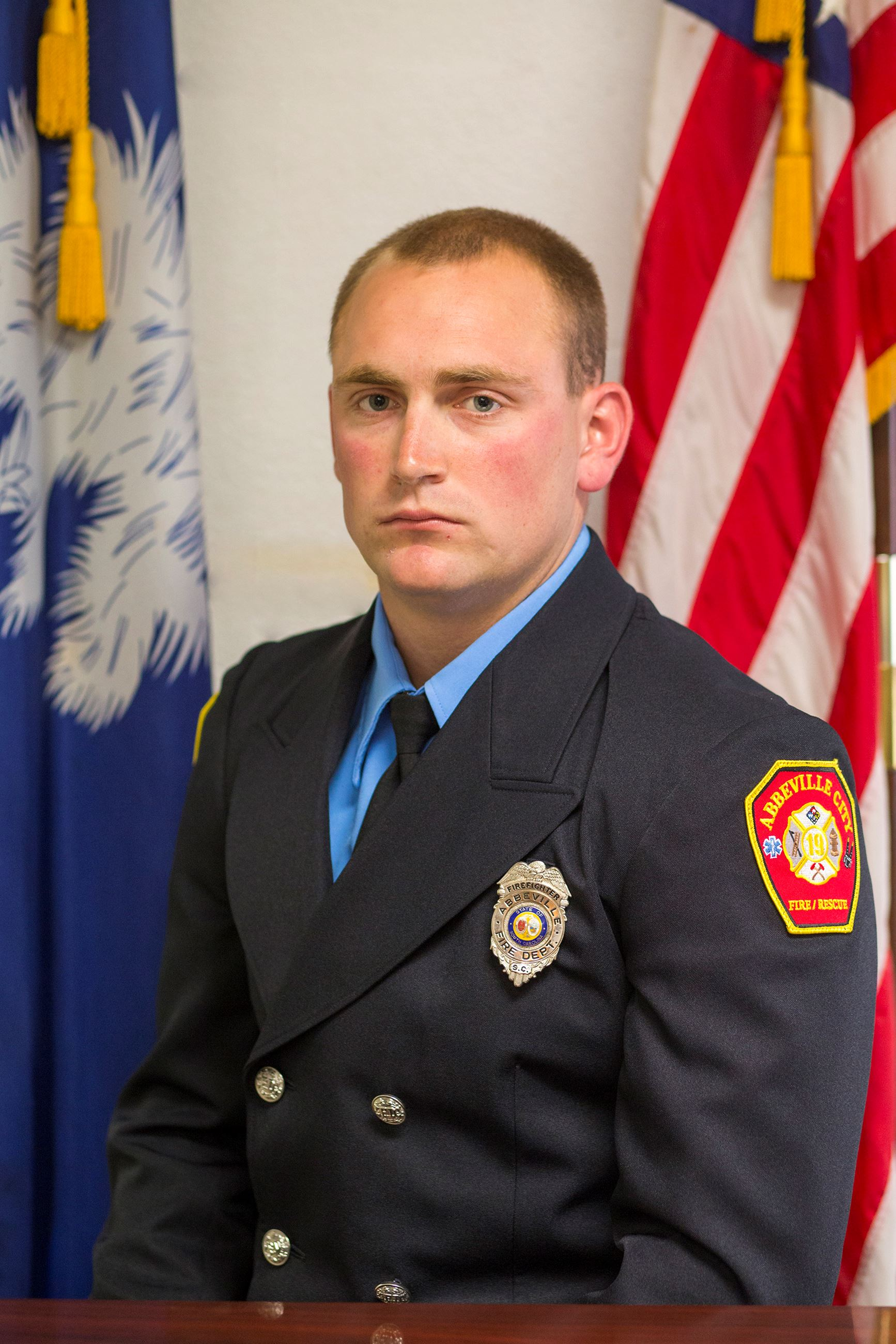 Senior Firefighter D.K Saylors