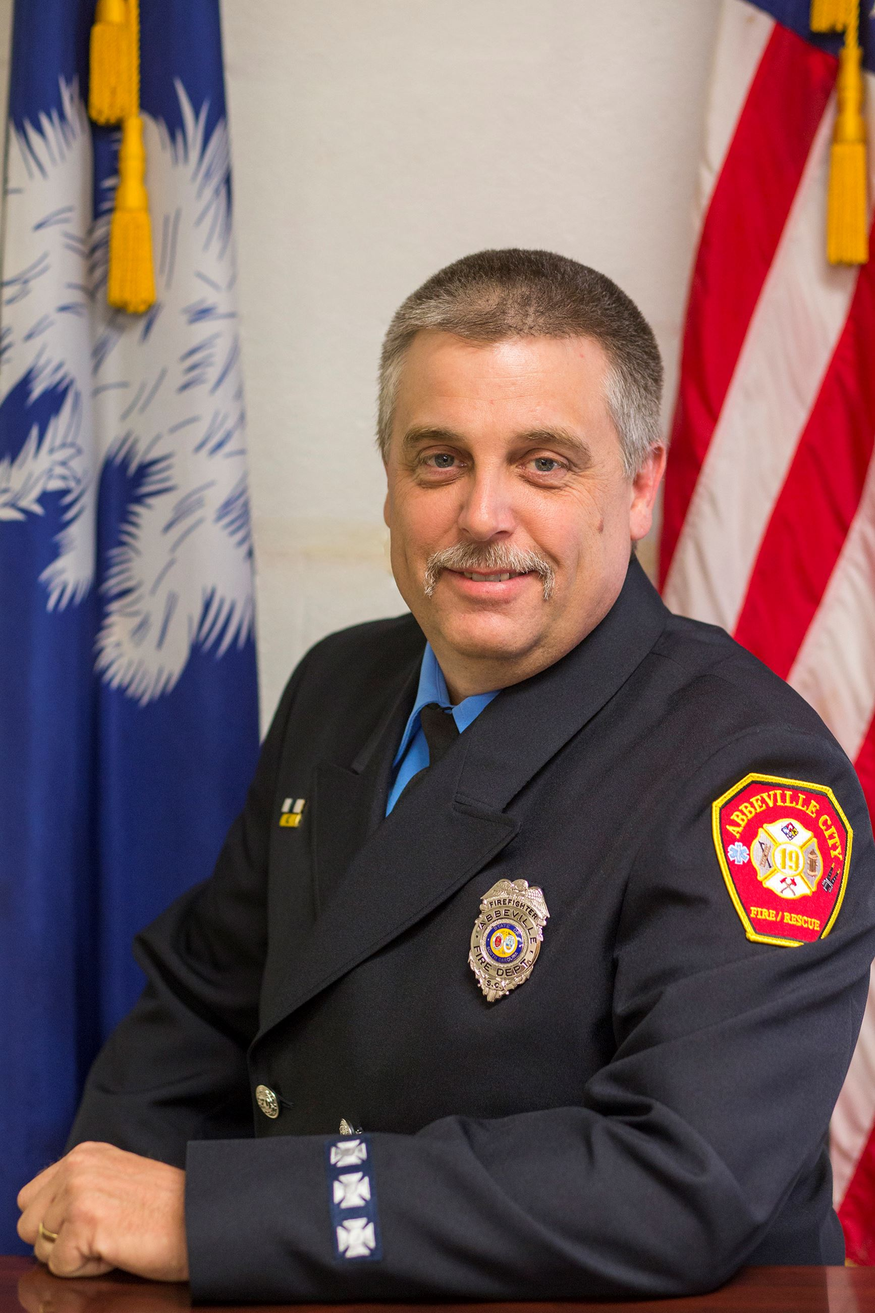 Senior Firefighter Mark Davis